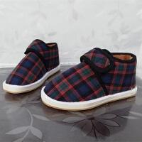 老北京冬季手工保暖鞋加绒加厚男女中老年牛筋底妈妈月子棉鞋