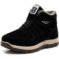 冬季老北京布鞋男棉鞋加绒加厚保暖爸爸鞋户外运动休闲棉鞋男防滑