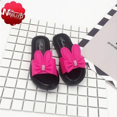 女孩拖鞋2到12岁11女孩10学生9小孩穿的8女童鞋子7夏天6兔耳朵5凉拖鞋4儿童3一字拖可爱凉鞋