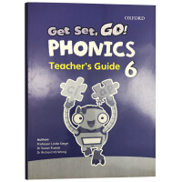 Get Set Go Phonics Teacher's Guide 6 牛津幼儿自然拼读配套教师用书6级别 英文原版小