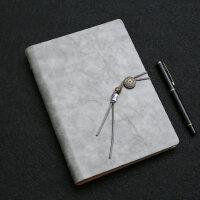 商务笔记本文具复古活页办公会议中国风日记本厚工作记事本子定制
