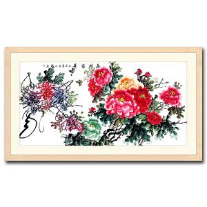 中国美术家协会会员  赵明锤 《花开富贵》 DYP82