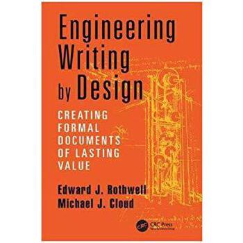 【预订】Engineering Writing by Design 9781138422070 美国库房发货,通常付款后3-5周到货!