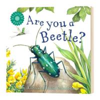 你是甲虫吗 Are You a Beetle 英文原版 儿童英语启蒙读物 英文版进口原版书籍