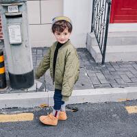 男童棉衣冬季童装儿童百搭宝宝棉袄小童外套