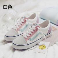 鞋子女学生帆布鞋韩版百搭休闲鞋新款女生鞋子平底原宿风女鞋板鞋