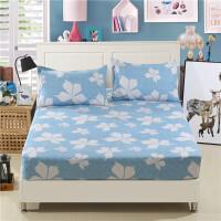 席梦思保护套床笠床罩床垫罩单件床套1.5/1.8m床 防滑床单