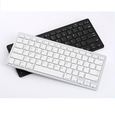 无线蓝牙键盘苹果华为m3平板电脑 ipad air2 mini4手机通用外接 轻薄易携 商务办公