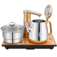 自动上水壶电热水壶套装304烧水壶电热茶炉