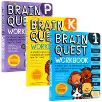 英文原版 Brain Quest Workbook 系列 少儿智力开发练习册Pre-K/Kindergarten/gr