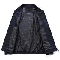 2018新款春秋季中年男士外套薄款50中老年男装爸爸装40岁男士夹克