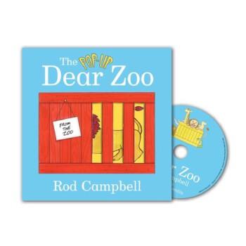 The Pop-up Dear Zoo (Book & CD) 《亲爱的动物园》 大奖童书-玩具卡板翻翻书(附CD)ISBN 9780230014237