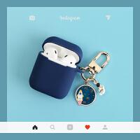 宇航员太空人苹果airpods保护套硅胶iPhone无线蓝牙耳机盒子壳薄