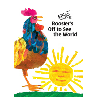 【中商原版】艾瑞卡尔 大公鸡看世界 英文原版 Rooster's Off to See the World 数数启蒙绘