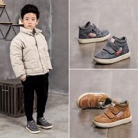 儿童棉鞋男秋冬季男童鞋子宝宝女保暖