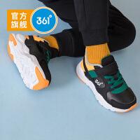 【新春到手价:107.6】361度童鞋男童棉鞋中大童2019年冬季新品保暖加绒休闲运动鞋