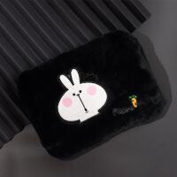 【好货优选】红鹏 暖手袋可充电萌萌爱兔注水热水袋毛绒玩具暖手宝安全防爆卡通电暖宝