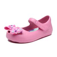 斯凯奇(Skechers)女童鞋新款蝴蝶结凉鞋 学步鞋玛丽珍鞋 86946N
