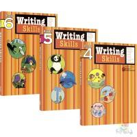 Harcourt Family Learning Writing Skills 写作技巧和思路 小学4-6年级练习册 单