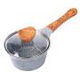 麦饭石小奶锅煮面热奶锅宝宝辅食小汤锅电磁炉小锅