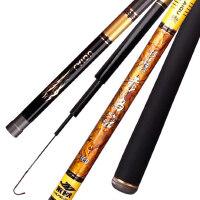 鱼竿渔具手竿碳素钓鱼竿战斗杆4.5米台钓竿28调鱼杆手杆
