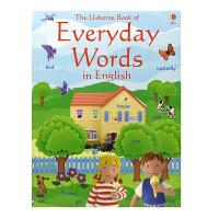 【首页抢券300-100】The Usborne Book of Everyday Words in English 5