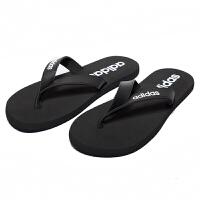 Adidas阿迪达斯男鞋户外沙滩鞋休闲透气拖鞋人字拖EG2042