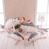 新款创意毛绒玩具咸鱼抱枕日本秋刀鱼公仔可爱大号儿童生日礼物