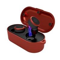 耳机 双耳真无线蓝牙5.0耳机8级防水游戏运动健身跑步开车入耳式降噪迷你超小隐形不闪灯 官方标配