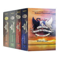 The School for Good and Evil善与恶的学院4本盒装 英文原版小说 善恶学校 Soman Cha