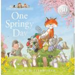 英文原版 有活力的* Nick Butterworth 帕西爷爷的爱心公园 儿童绘本One Springy Day (