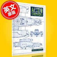 现货 异形:蓝图 英文原版 Alien: The Blueprints 异形系列电影宇宙 飞船 交通工具 技术蓝图 诺