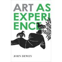 英文原版 艺术体验 Art as Experience