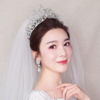 大气宫廷皇冠套装新娘手工结婚饰品婚纱头饰礼服配饰