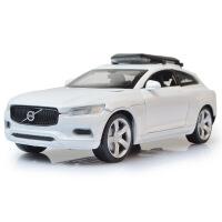 嘉业1:32沃尔沃XC仿真合金汽车模型 带回力声光功能儿 童玩具车