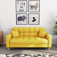 甜梦莱北欧沙发单人三人小户型双人位客厅出租屋房经济型布艺小沙发组合