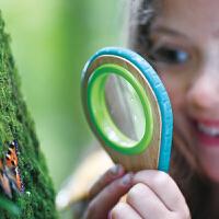 Hape儿童户外玩具放大镜、口哨探索套5岁+