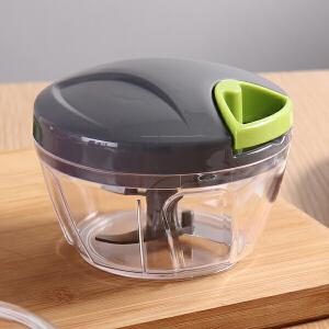 【满减】欧润哲 手拉式多功能食物料理碗 手拉料理机肉馅菜馅料理器捣碎器