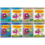 【首页抢券300-100】SAP Rainbow Science K1K2 彩虹幼儿园科学教辅8册套装 新加坡儿童英语教辅小学 新亚出版社 3-6岁 小班-大班 英文原版进口图书