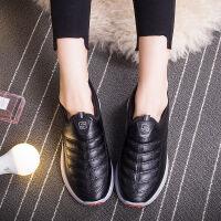 新款棉鞋老北京布鞋����鞋冬加厚保暖防滑中老年一�_蹬女鞋奶奶鞋 黑色 1927棉 36 收藏店���先�l�