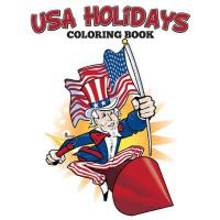 【预订】USA Holidays Coloring Book