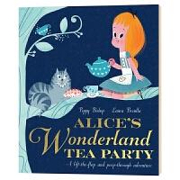 爱丽丝梦游仙境茶话会 Alice's Wonderland Tea Party 英文原版绘本