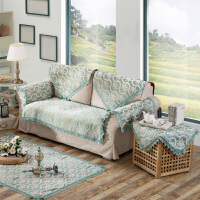 欧式风情四季通用雪尼尔沙发垫布艺欧式客厅防滑组合沙发套罩