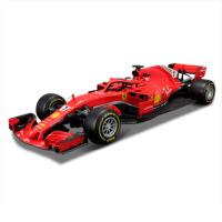 仿真合金汽车模型 1 18法拉利f1车模方程式赛车sf71h