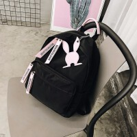 新款牛津布双肩包女韩版校园少女包时尚休闲书包旅行小背包潮