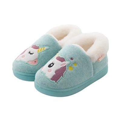 儿童棉拖鞋男1-3岁冬季宝宝棉鞋室内女童家居鞋