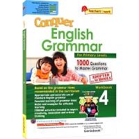 SAP Conquer Grammar Workbook 4 攻克系列小学四年级语法练习册 9-10岁 新加坡新亚出版