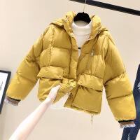 女短款韩版宽松棉袄2018冬装新款加厚面包服羽绒棉衣ins外套