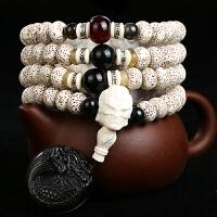 正月菩提子手串108颗 男女佛珠项链手链礼物