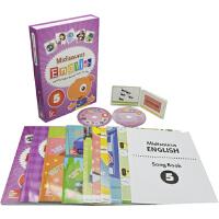 【抢300减100】Midisaurus English 5 米迪英语学生包 7册附字卡+2CD+5教学海报+音乐书